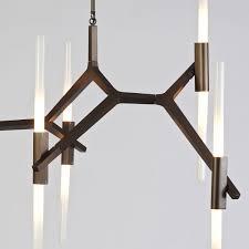 David Weeks Chandelier Original Design Chandelier Glass Aluminum Led Agnes 10 By