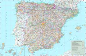 Large Map Of The World Maps Of Spain Map Library Maps Of The World Spain Maps