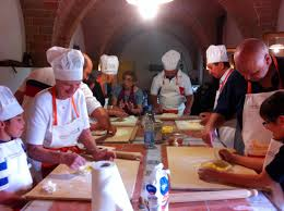 weekly joinable cooking class typical tuscan cooking class