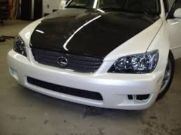 lexus is300 solar yellow new additions sport design headlights and tint 56k go make lunch
