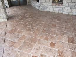 Concrete Patio Resurfacing Products Concrete Patio With Stamped Concrete Overlay Modern Patio St