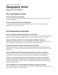 United States Map Activity by Geography Alive Table Of Contents By John Padula Issuu
