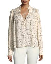 print blouses lyst print blouses shop s print blouses lyst