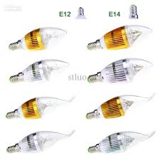 Cree Dimmable Led Light Bulbs by 3w Led Lights Cree Candle Candelabra Light Lamp Bulb Globe E12 E14