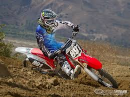 motocross bikes honda 2012 honda crf250r first ride photos motorcycle usa