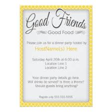 Dinner Party Invitations Business Dinner Invitations U0026 Announcements Zazzle