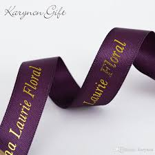 personalized ribbon 10mm 75mm custom print ribbon festival decoration personalized