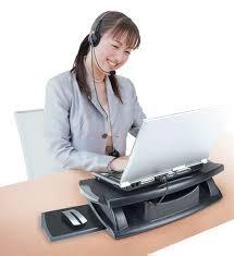 Lap Desk With Fan Adjustable Laptop Lap Desk With Cooling Fan In Lap Desks