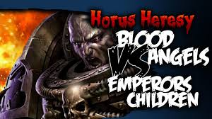 brother vs brother horus heresy battle report bell of lost souls