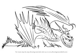 learn draw hookfang train dragon 2