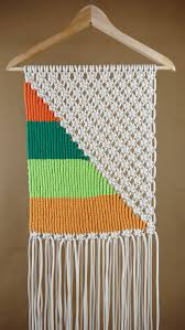 Hanging Wall Decor by Macrame Tapestry Wall Hanging Tutorial Macrame Tapestry