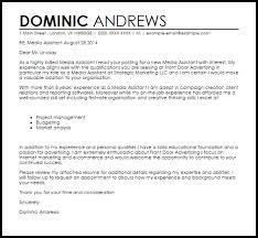 online marketing assistant cover letter