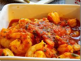 cuisiner crevette crevettes sauce tomate facile le cuisine de samar