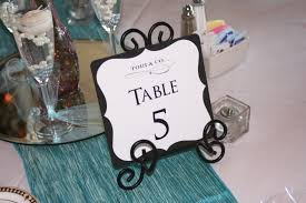 modern table numbers wedding table decorations articles easy weddings loversiq