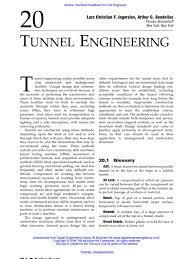 tunnel engineering tunnel ventilation architecture