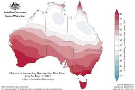 meteorology bureau australia bureau of meteorology winter climate map abc australian