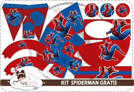 spiderman free printable kit parties free