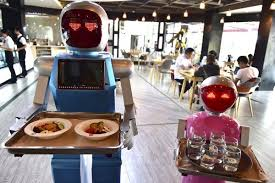 robots cuisine if robots replace half of us workers what will humans play