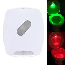 toilet light led human motion activated pir light sensor toilet light bathroom