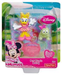 amazon fisher price disney u0027s minnie mouse pet picnic daisy