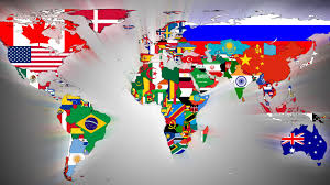 Countries Of The World Flags Photo Collection Flags World Map Desktop