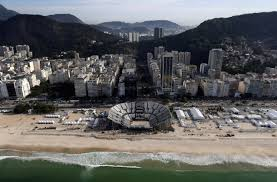 Rio Olympic Venues Now Rio Games Far From Sold Out Ticket Sales At 82 Percent