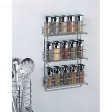 Spice Rack Storage Organizer Metal Spice Rack Ebay