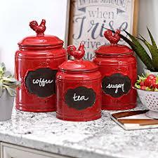 red kitchen canisters kitchen canisters canister sets kirklands