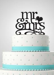 mrs and mrs cake topper cake topper personalize cake topper