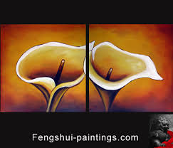 cherry blossom painting brings feng shui love luck and is