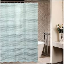 extra long shower curtains contemporary minimalist dot shower