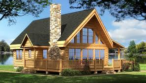 log cabin house plans rockbridge home back rustic country