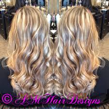 chai latte blonde highlight and lowlight amhairdesigns am hair