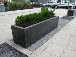 large concrete planter blyth robust large outdoor concrete planters range uk