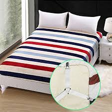 triangle bedding cozroom triangle bed sheet fastener adjustable holder straps for a