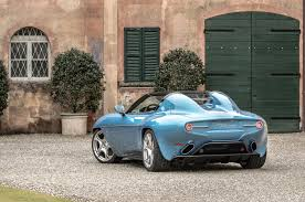 carrozzeria touring unveils alfa romeo disco volante spider