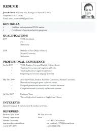 job application cv format stunning resume format for applying job abroad contemporary