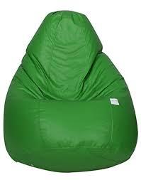 bewitch craft xxxl velvet bean bag with beans teal green at