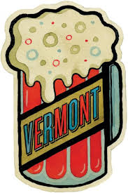 Vermont travel stickers images Adam mccauley illustration travel stickers jpg