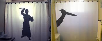 marvellous psycho bathroom set bloody bath mat shower curtain