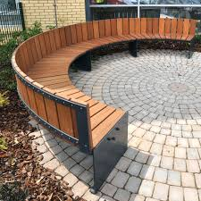 High Back Garden Bench Curved Bench Seating With Back Curved Bench Outdoor Furniture