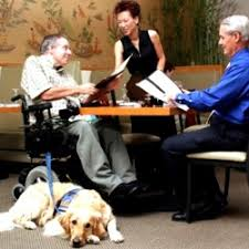 Dogs At Dinner Table What You Need To Know About Service Animals National Restaurant