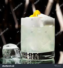 vodka tonic lemon vodka sour cocktail vodka sugar syrup stock photo 130495799