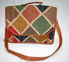 Handmade Jute Rugs Details About Kilim Carpet Rug Laptop Messenger Briefcase