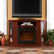 Electric Fireplace Tv by Southern Enterprises Claremont Convertible Cherry Electric
