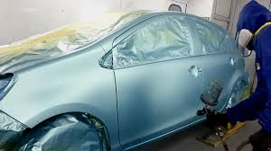 blue metallic paint job toyota prius youtube