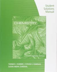 student solutions manual for zumdahl zumdahl decoste u0027s chemistry