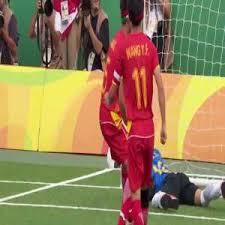 Paralympics Blind Football Jefinho Blind Brazilian Soccer Players Scores Two World Class