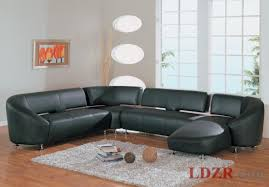 Black Leather Sofa Modern Living Room Modern Contemporary Black Leather Sofa Living Room