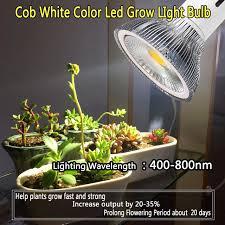 Grow Light Bulb Aliexpress Com Buy E27 10w Full Spectrum White Color